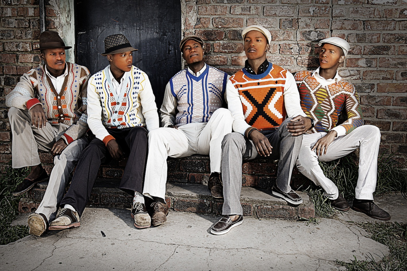 We just love this range of Xhosa inspired knitwear from Laduma ...