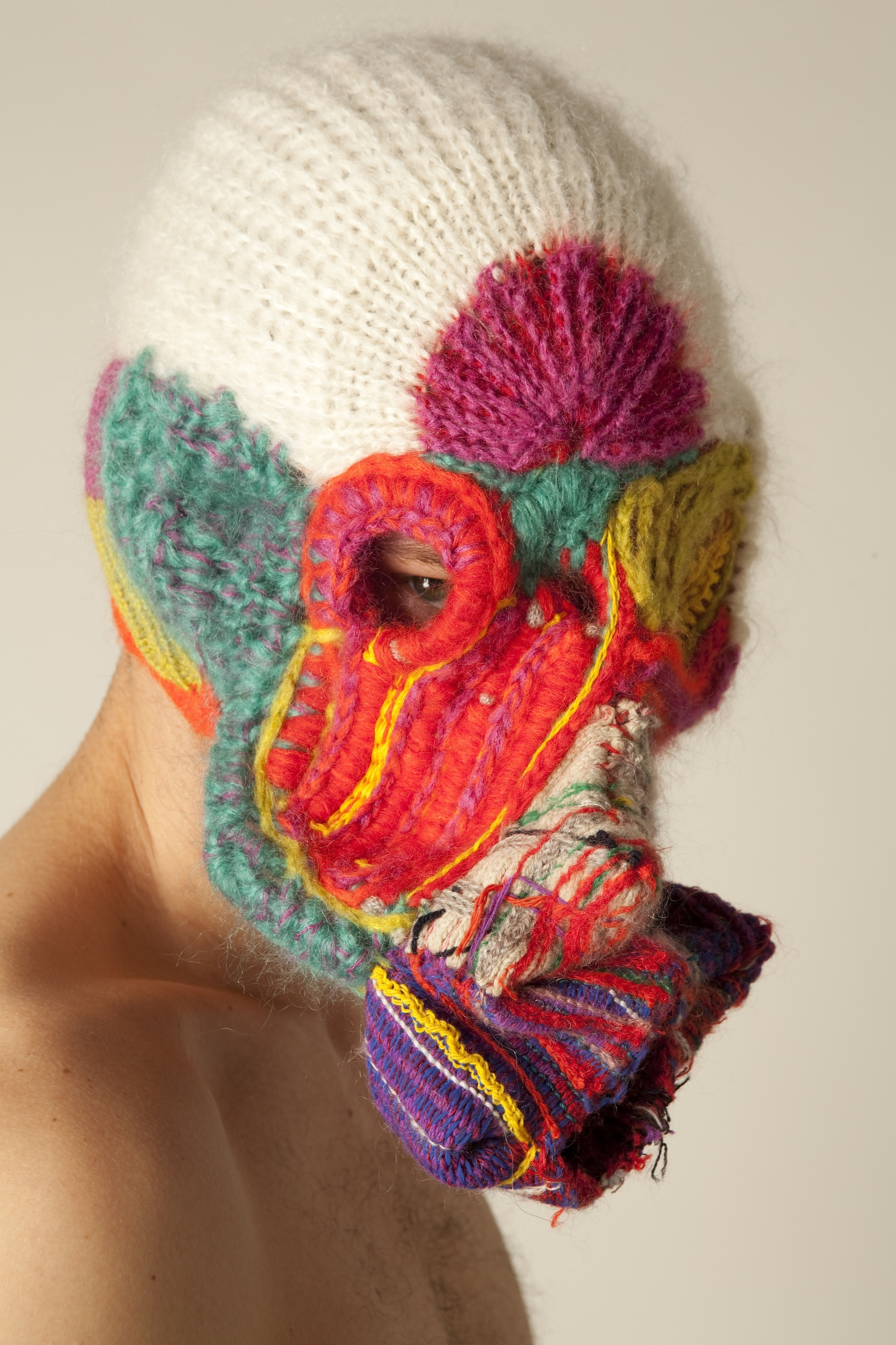 Knitting Artists : Li edelkoort and mohair south africa craft reinvented