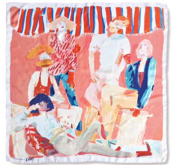 Michael Taylor silk scarf