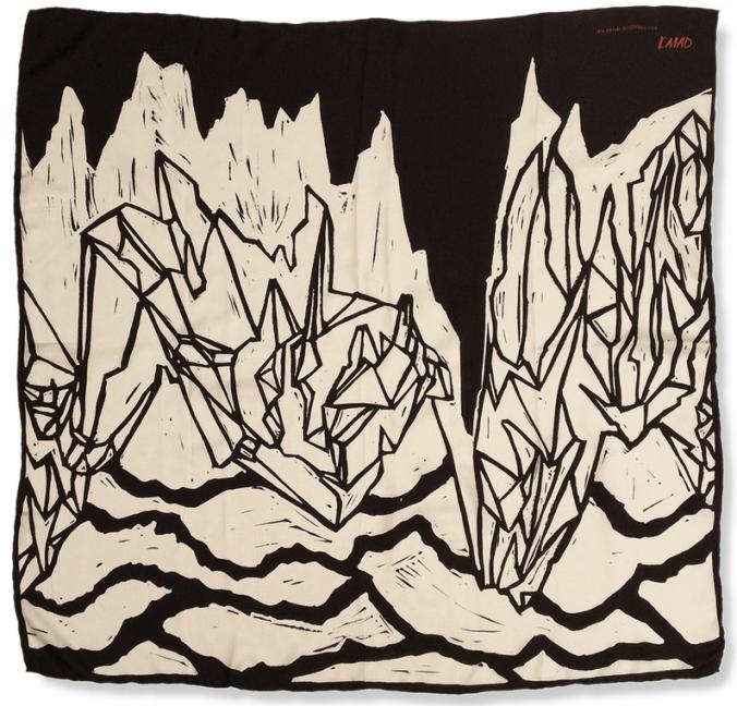 Jan-Henri Booyens silk scarf