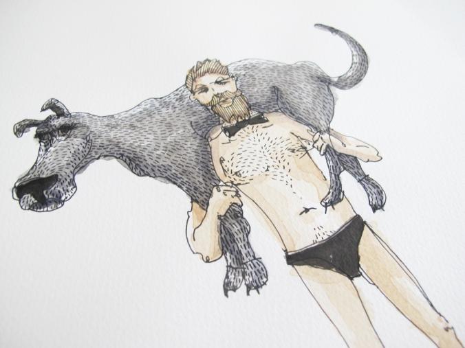 DOG  + Koos Groenewald