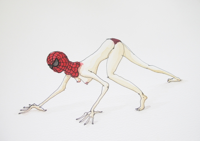 Spiderwoman + Koos Groenewald