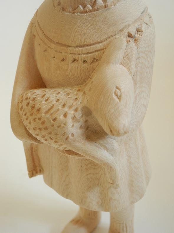 Noush Wooden Clonette Doll
