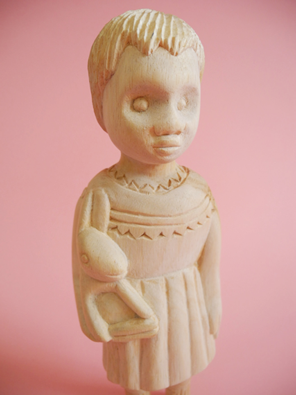 Noush Wooden Clonette Doll