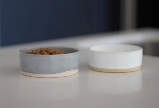 Benji + Moon | Ceramic Cat Food Bowls
