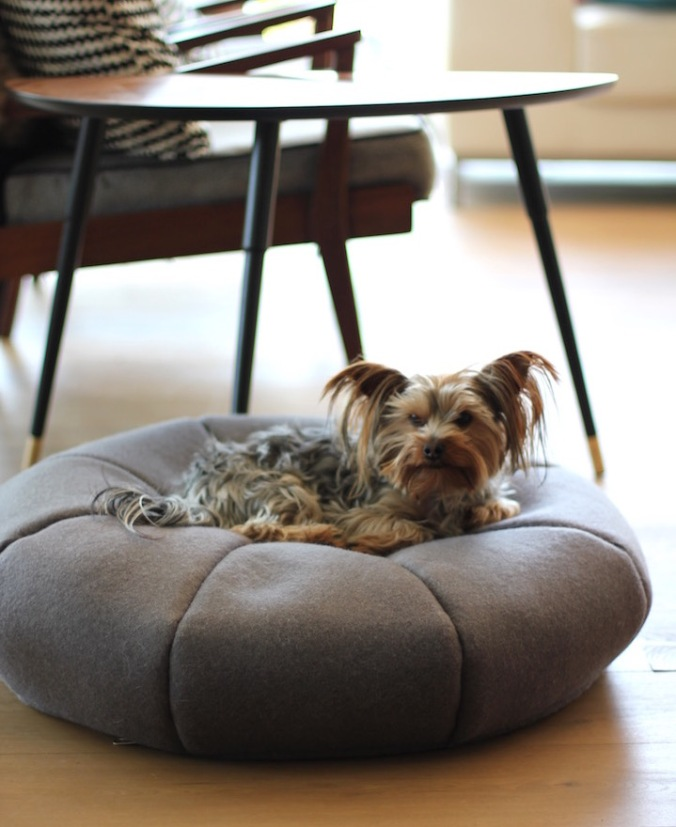 Benji + Moon | Handcrafted merino wool doggy day beds