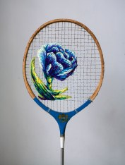 danielle-clough-paper-flower-racket